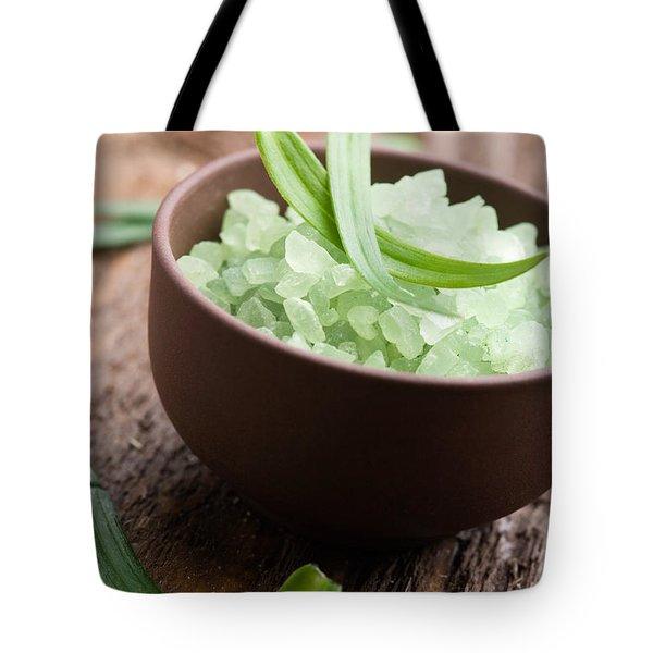 Bath Salt Tote Bag by Kati Finell