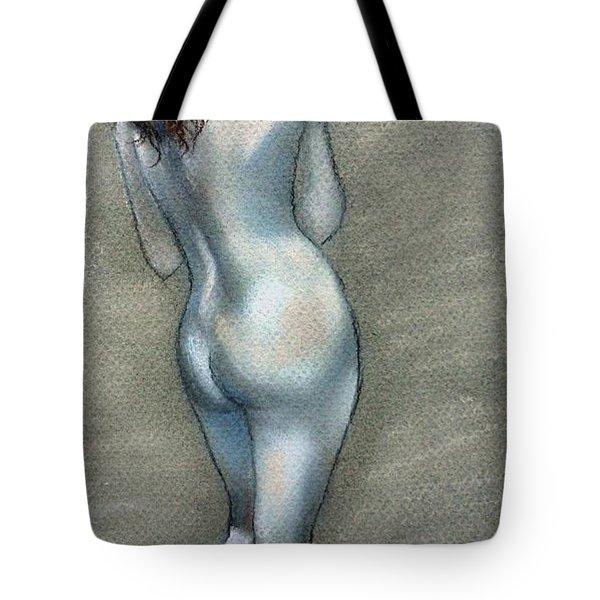 Bath Time Tote Bag by Julie Brugh Riffey