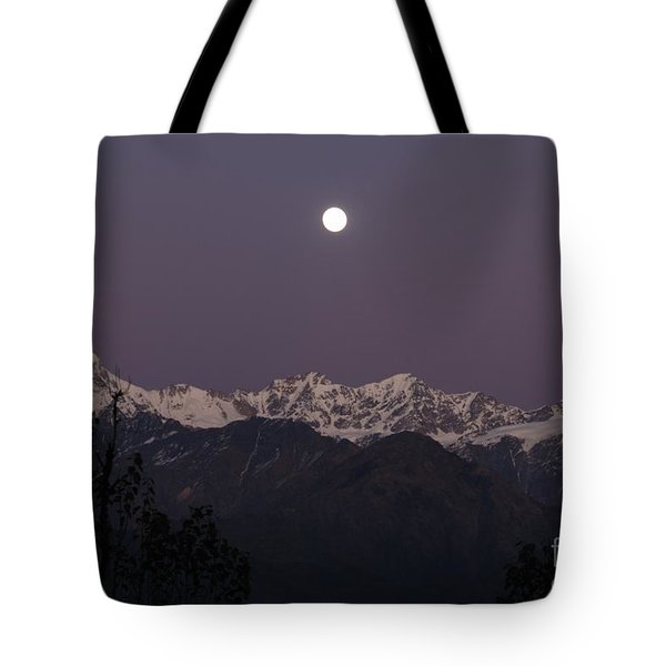 Tote Bag featuring the photograph Bathed In Moonlight by Fotosas Photography