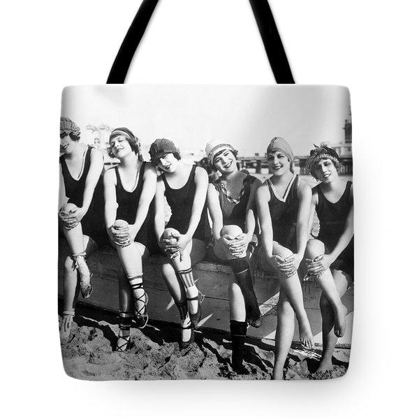 Bathing Beauties, 1916 Tote Bag by Granger