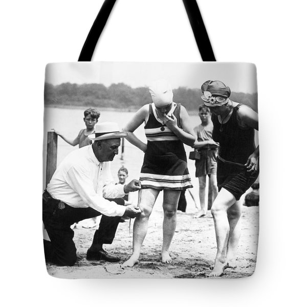 Bathing Suits, 1922 Tote Bag by Granger