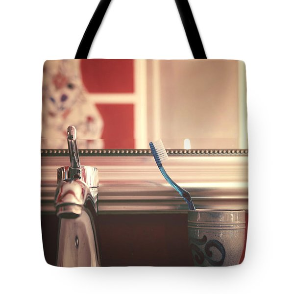Bathroom Tote Bag by Joana Kruse