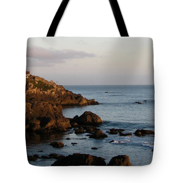 Battery Point Lighthouse Tote Bag