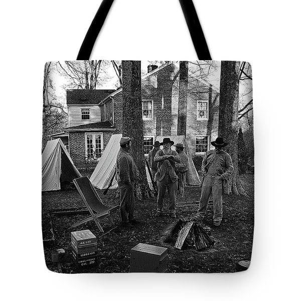 Battle Done Tote Bag by Paul Mashburn