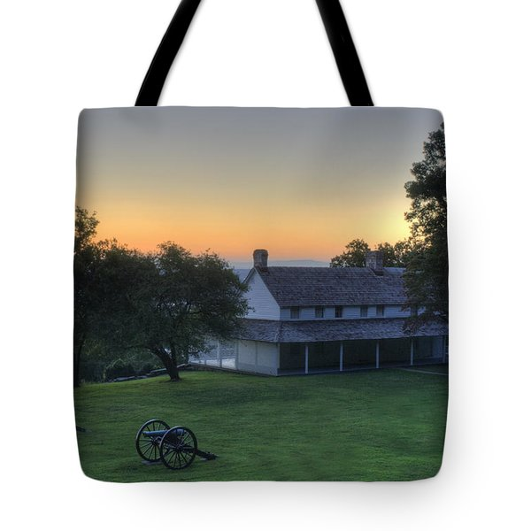 Battle Grounds Tote Bag