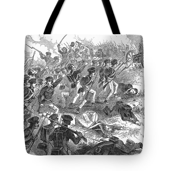 Battle Of Cerro Gordo Tote Bag by Granger
