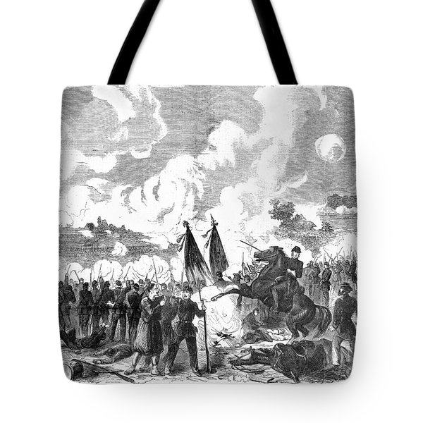 Battle Of The Chickahominy Tote Bag by Granger