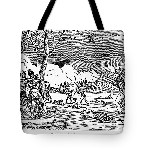 Battle Of Tippecanoe Tote Bag by Granger