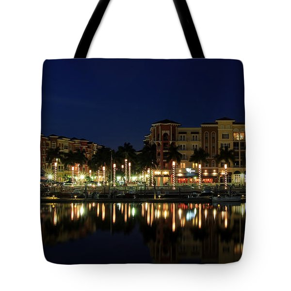 Bayfront In Naples Tote Bag