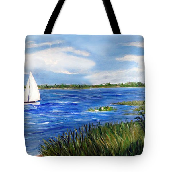 Bayville Marsh Tote Bag