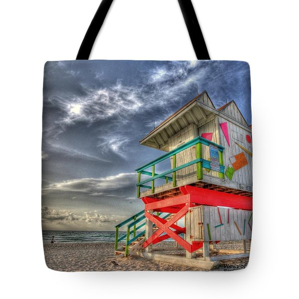 Baywatch Miami Tote Bag