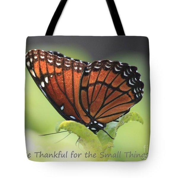 Be Thankful Tote Bag by Carol Groenen
