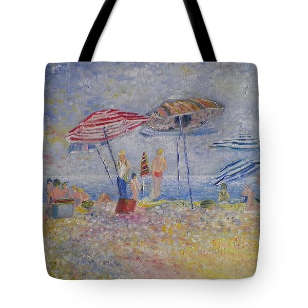 Beach Afternoon Tote Bag by B Russo