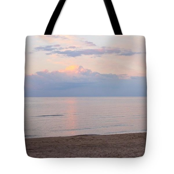 Beach At Dusk  Tote Bag by Justin Connor