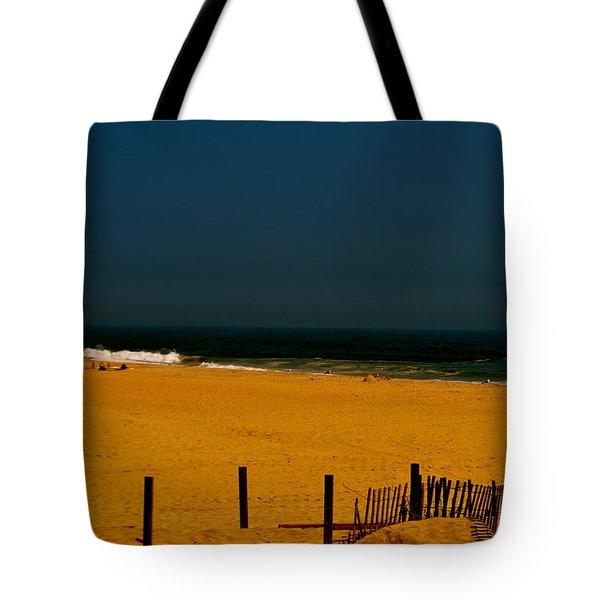 Beach Blues Tote Bag by Joe  Burns