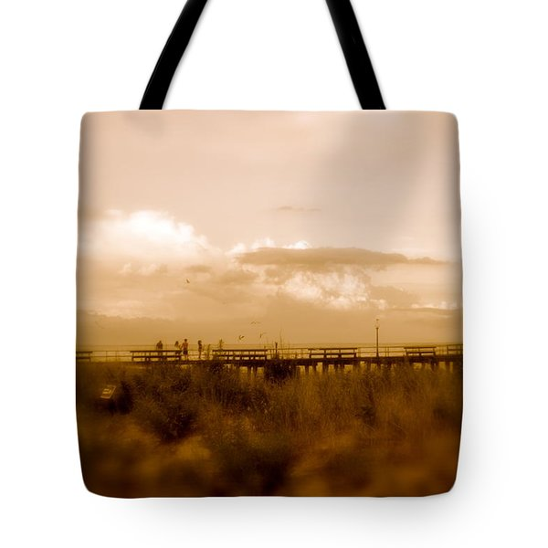 Beach Effect Tote Bag