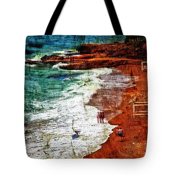 Beach Fantasy Tote Bag by Madeline Ellis