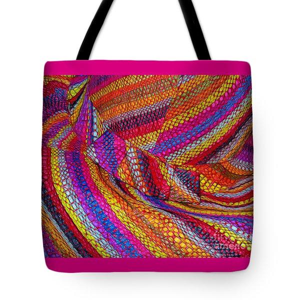 Beach Hat Tote Bag by Judi Bagwell