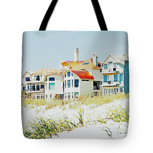 Beach House Tote Bag