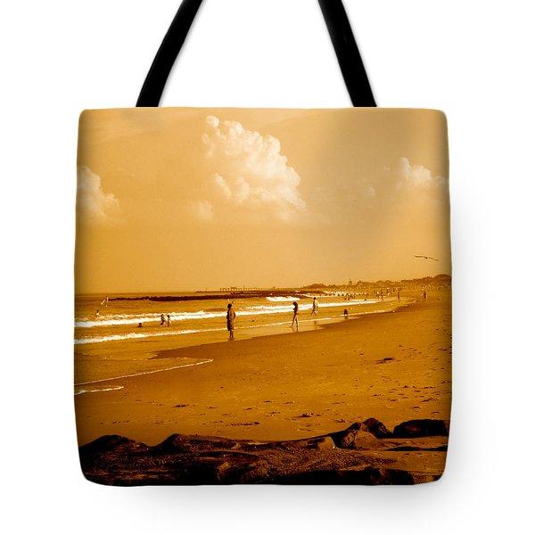 Beach Life Tote Bag by Joe  Burns
