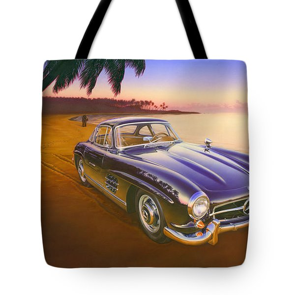 Beach Mercedes Tote Bag by Andrew Farley