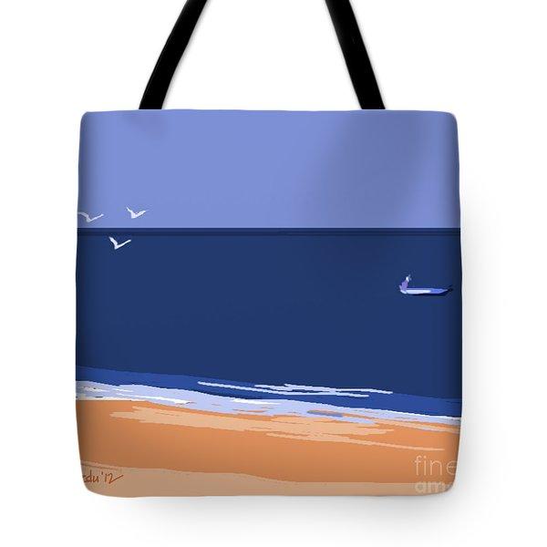 Beach Tote Bag by Nedunseralathan R