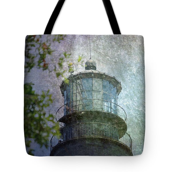 Beacon Of Hope Tote Bag by Judy Hall-Folde