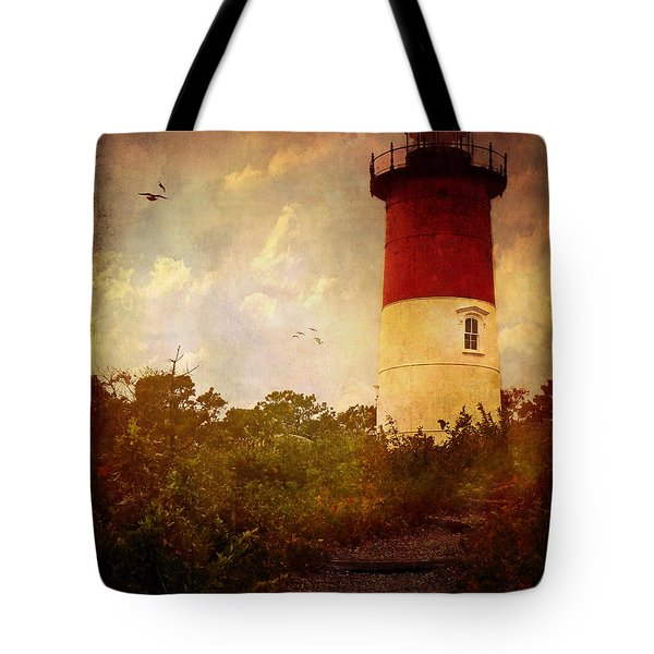 Beacon Of Hope Tote Bag by Lianne Schneider