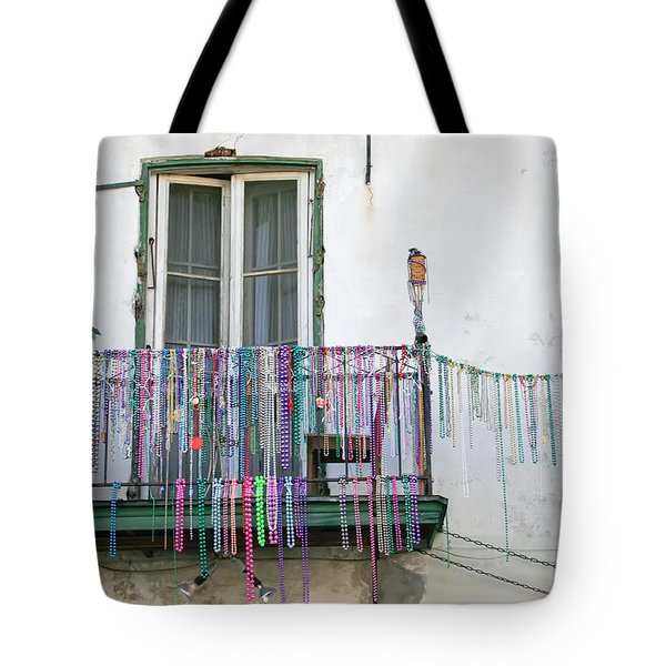 Bead The Porch Tote Bag