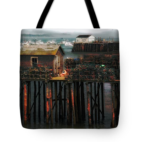 Tote Bag featuring the photograph Beals Island by Alana Ranney