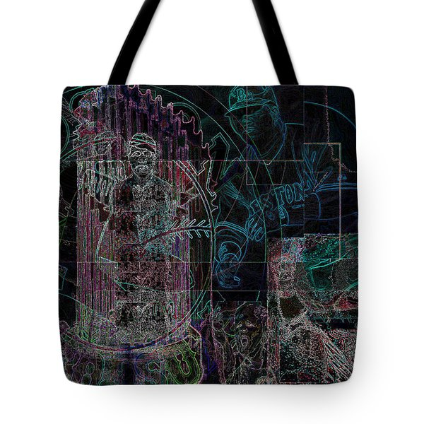 Bean Town V3 Tote Bag by Jimi Bush