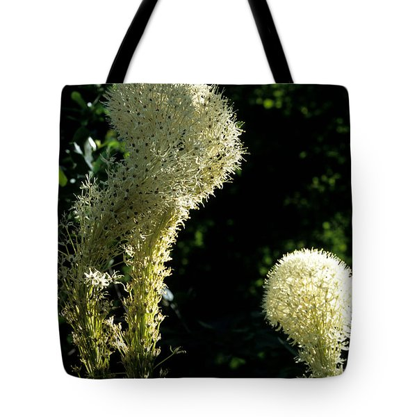 Tote Bag featuring the photograph Bear-grass I by Sharon Elliott
