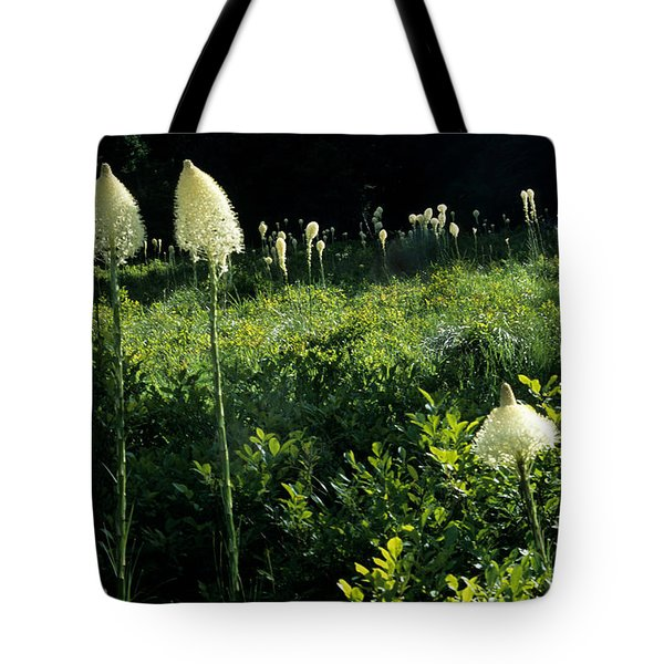 Tote Bag featuring the photograph Bear-grass II by Sharon Elliott