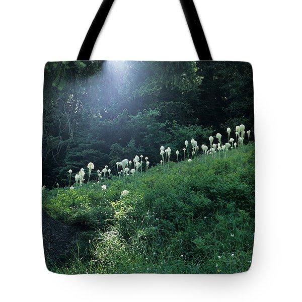 Bear-grass Ridge Tote Bag by Sharon Elliott
