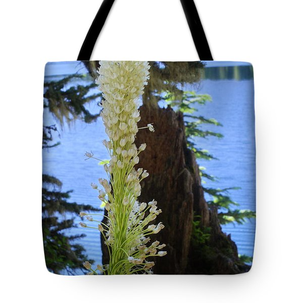 beargrass and Stump Tote Bag