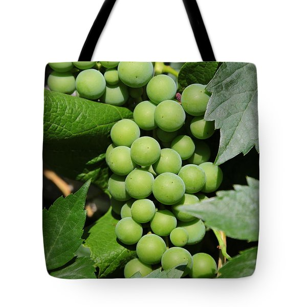 Beautiful Grapes Tote Bag by Carol Groenen