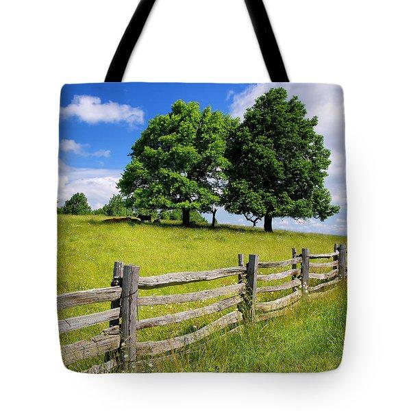 Beautiful Virginia Pasture Tote Bag