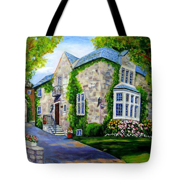 Beautiful Westmount Home Tote Bag by Carole Spandau