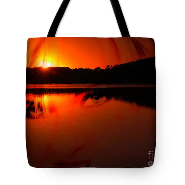 Tote Bag featuring the photograph Beauty Looks Back by Clayton Bruster