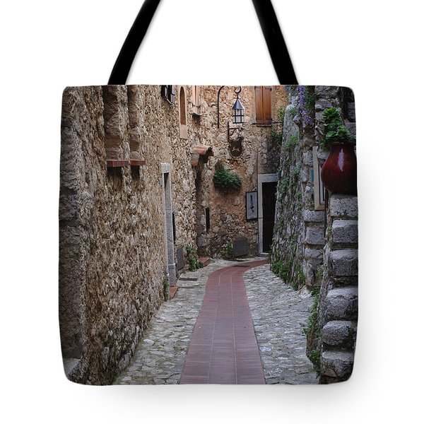 Beauty Of Eze France Tote Bag by Bob Christopher