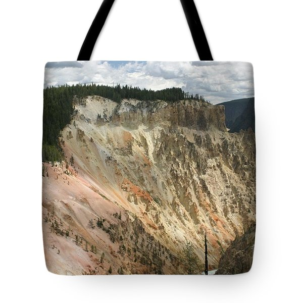 Beauty Of The Grand Canyon In Yellowstone Tote Bag by Living Color Photography Lorraine Lynch