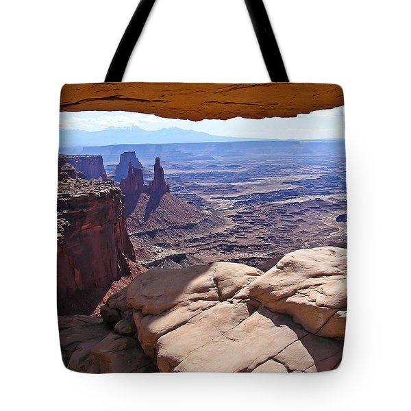 Beauty Through An Arch Tote Bag