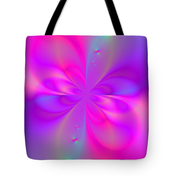 Tote Bag featuring the digital art Beauty Within  by Ester  Rogers