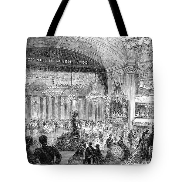 Beaux Arts Ball, 1861 Tote Bag by Granger