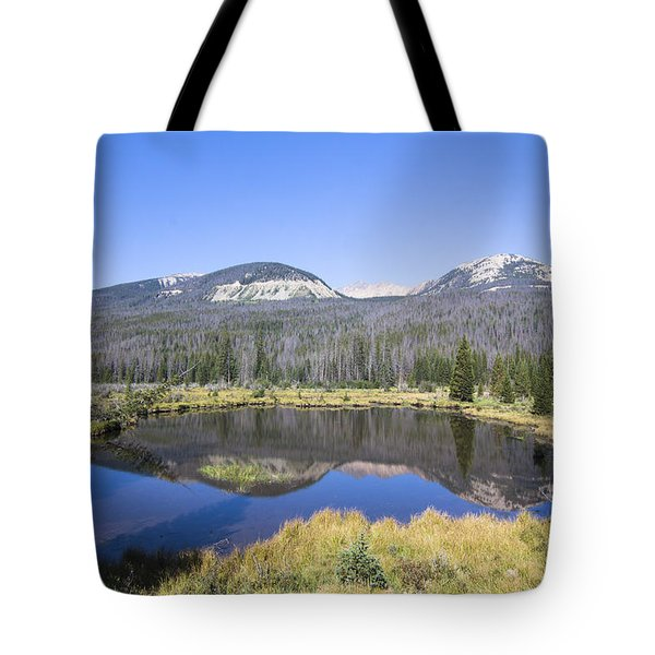 Beaver Pond At Rocky Mountain National Park Tote Bag