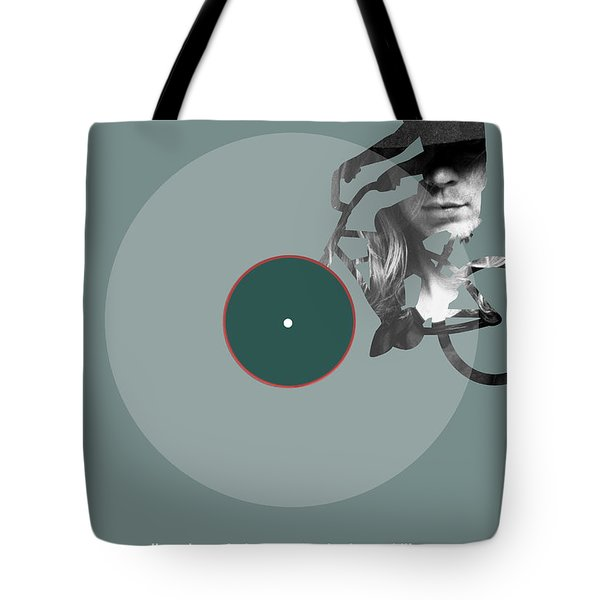 Beck Poster Tote Bag by Naxart Studio