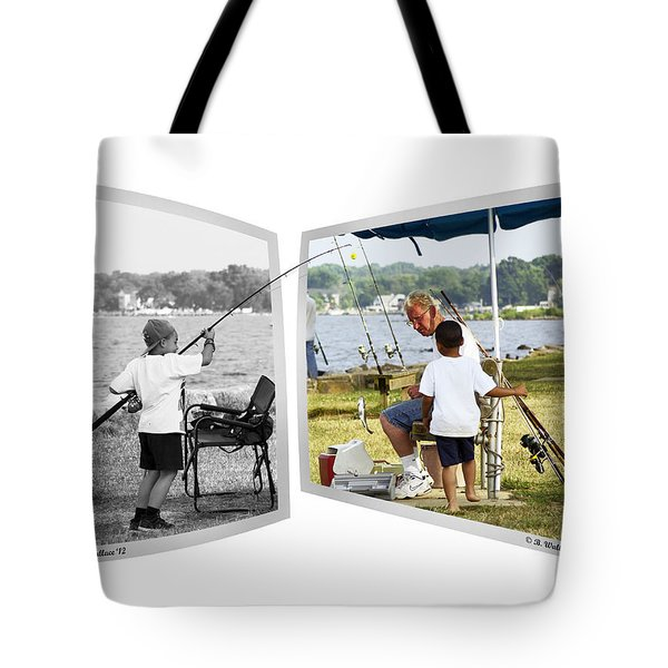 Becoming A Happier Day Tote Bag by Brian Wallace