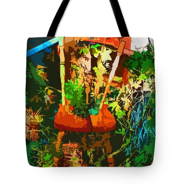 Becoming One With The Memories Tote Bag by Lenore Senior and Dawn Senior-Trask