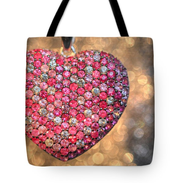 Bedazzle My Heart Tote Bag