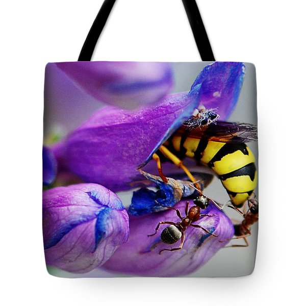 Bee Parking Lot Tote Bag